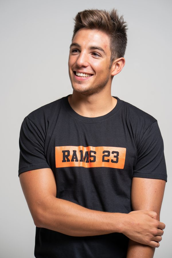 Rams 23 Estampado Rectangular